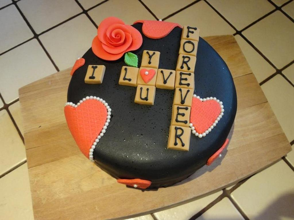 A cake for your Valentine? by Leah Stevenson