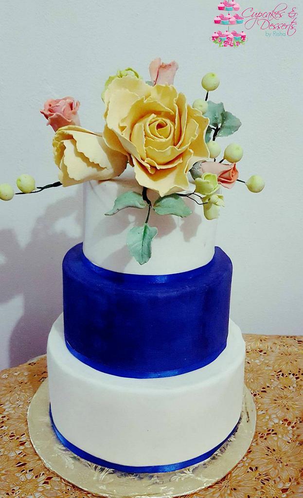 Blue Wedding by Risha