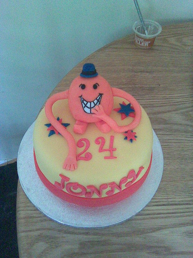This is where it all began. My first cake. Mr Tickle. by Gemma Coupland