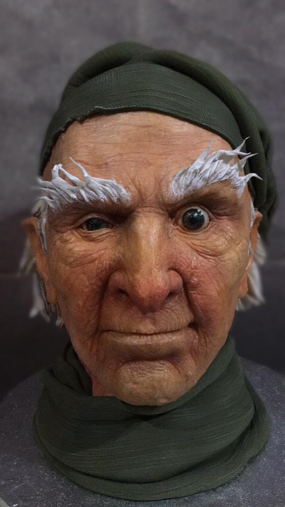 Ebeneezer Scrooge  by Nightwitch