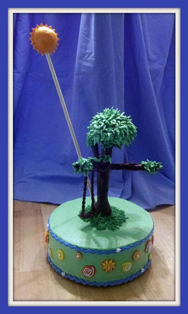 Buttons and Tree by Charis