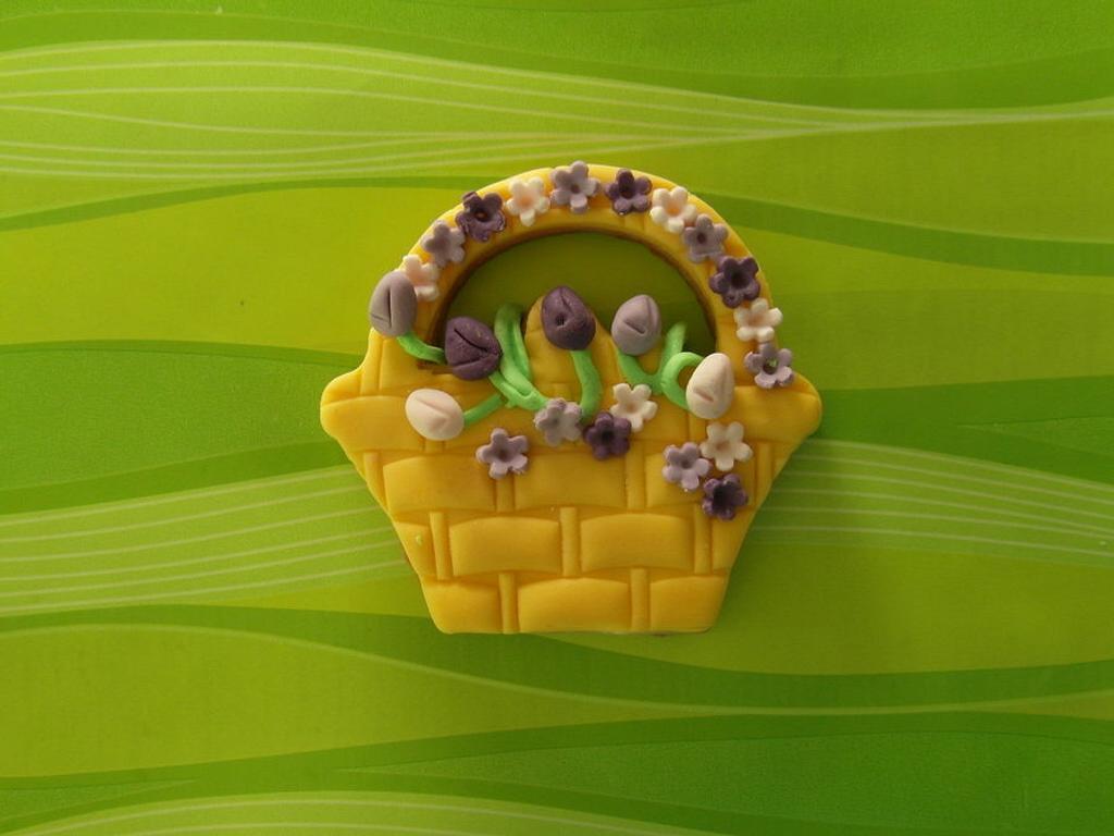 Basket cookies by Carla