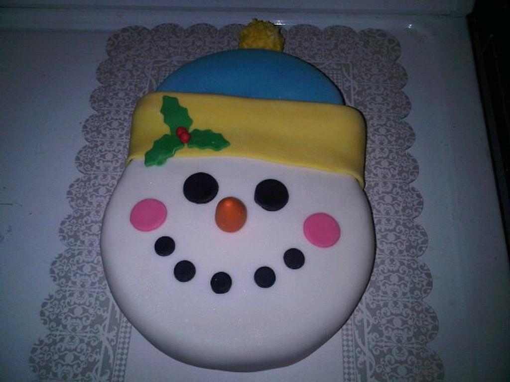 My snowman!!!!  by Gabriela Mera