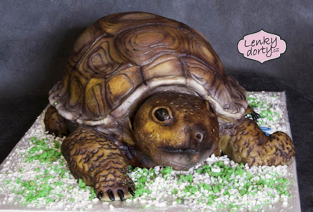 Turtle cake by Lenkydorty