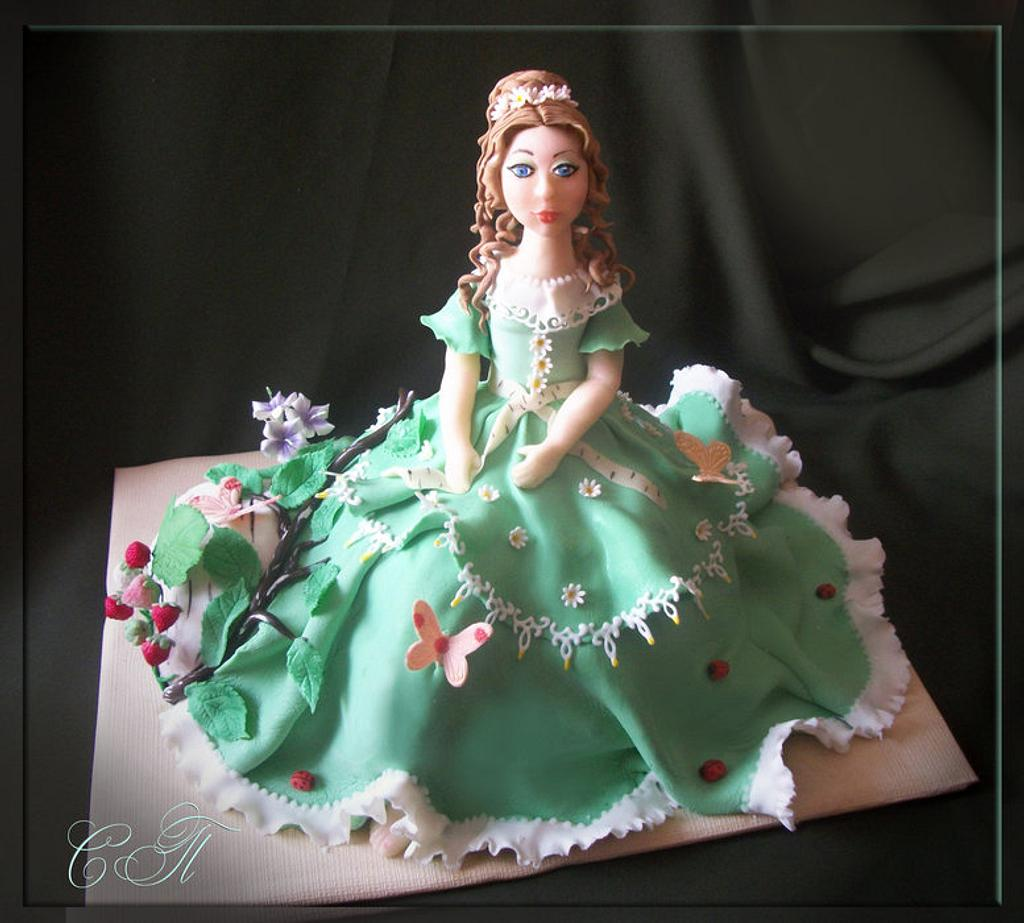 Cake female Spring by Svetlana