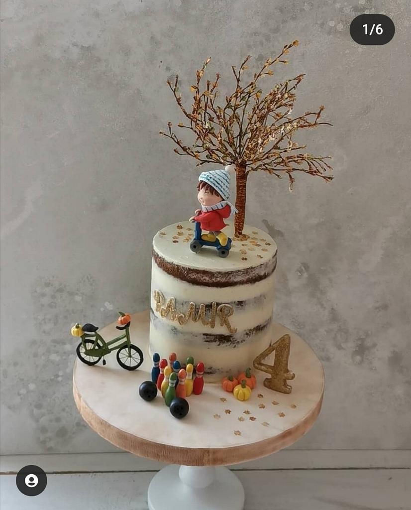 Naked Cake by Make & Bake Türkiye