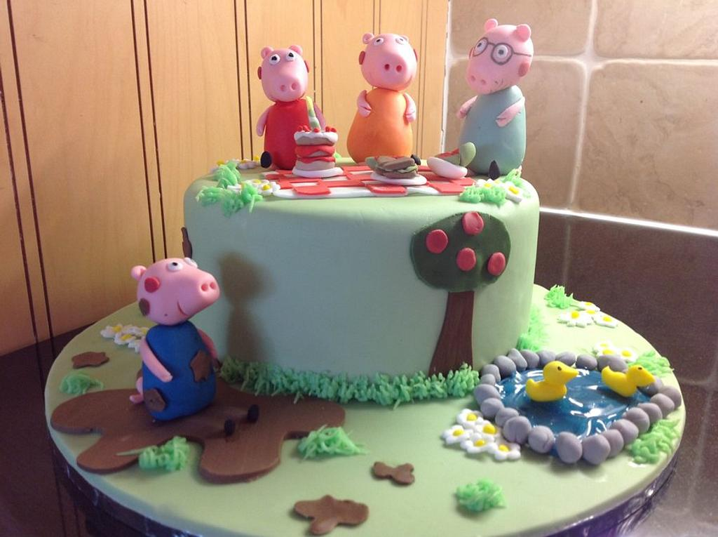 Peppa Pig and the family day out. by Disneyworld25