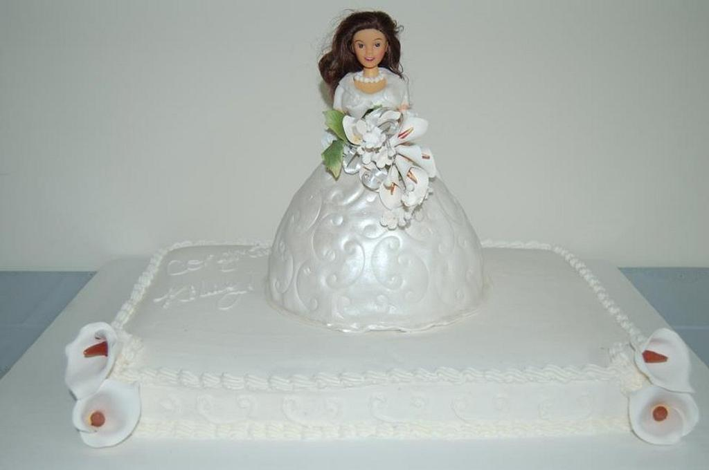 bridal shower cake by AngieW