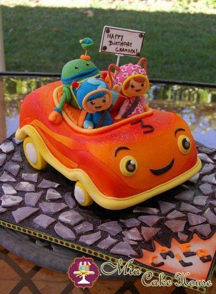 Umizoomi Team Car cake by Sheila
