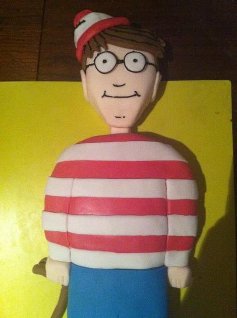 Wheres Wally!! by cakesbyclaire