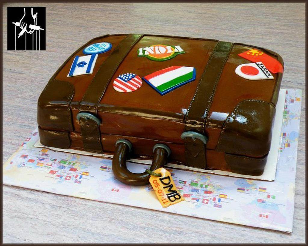 AROUND THE WORLD IN A DAY CAKE by TheCakeDon