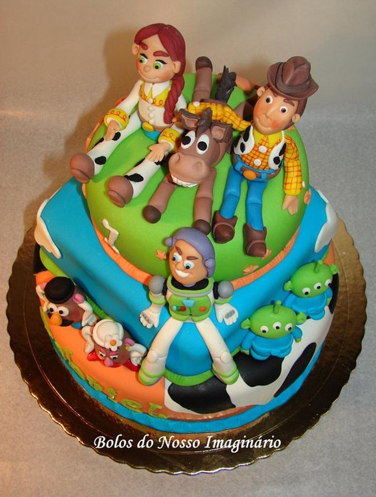 TOY STORY CAKE by BolosdoNossoImaginário