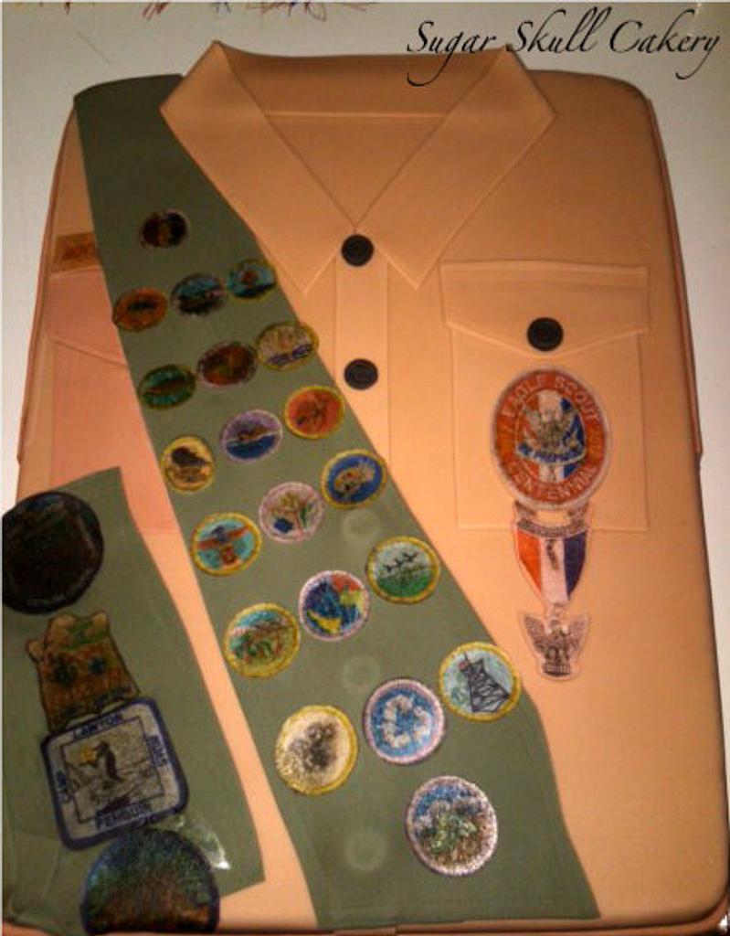 Eagle Scout Ceremony Cake by Shey Jimenez