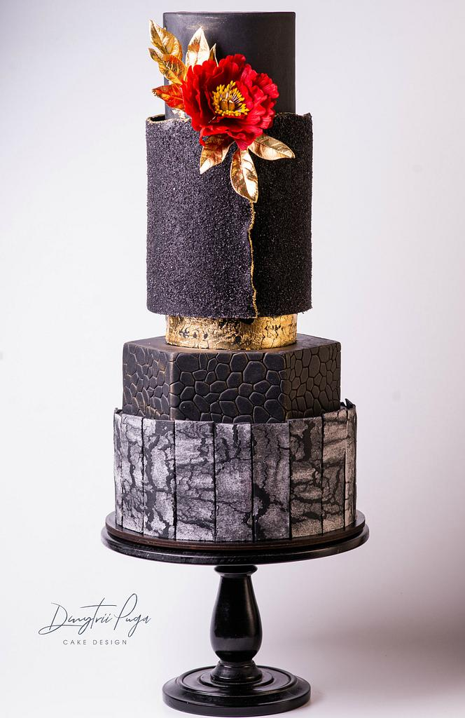 Romantic wedding cake by Dmytrii Puga
