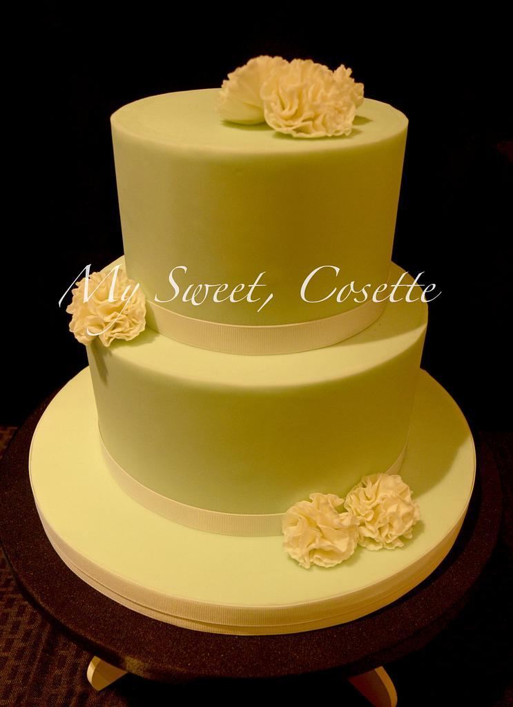 Carnation Cake by Cosette