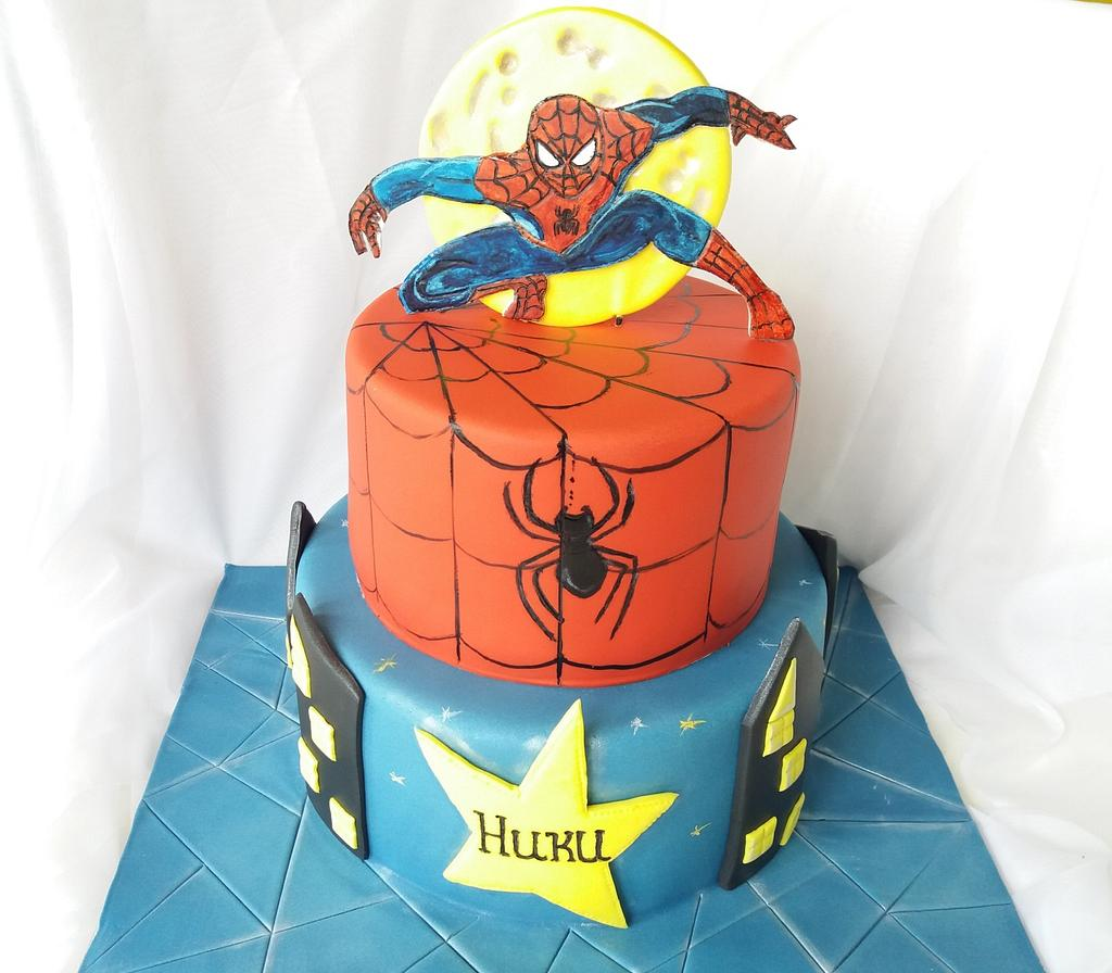 Spiderman cake by Nadi Ivanova
