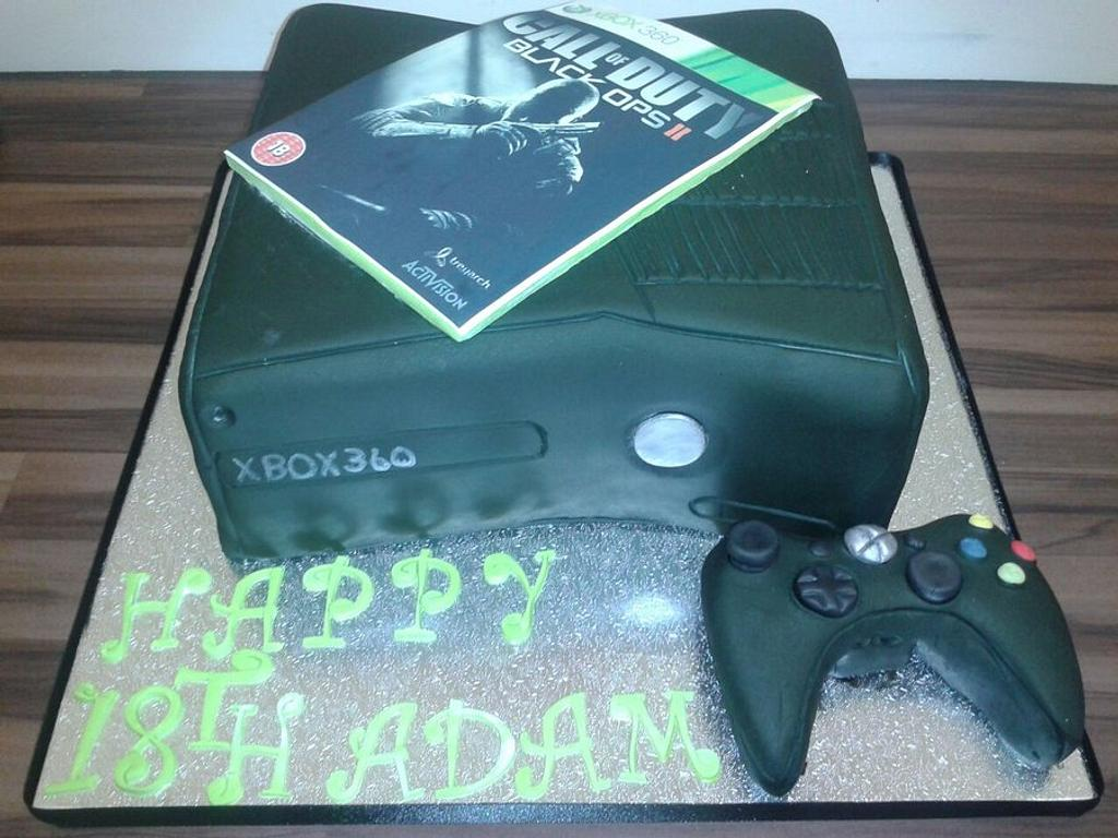 XBOX 360 - BLACK OPS 2 by debscakecreations
