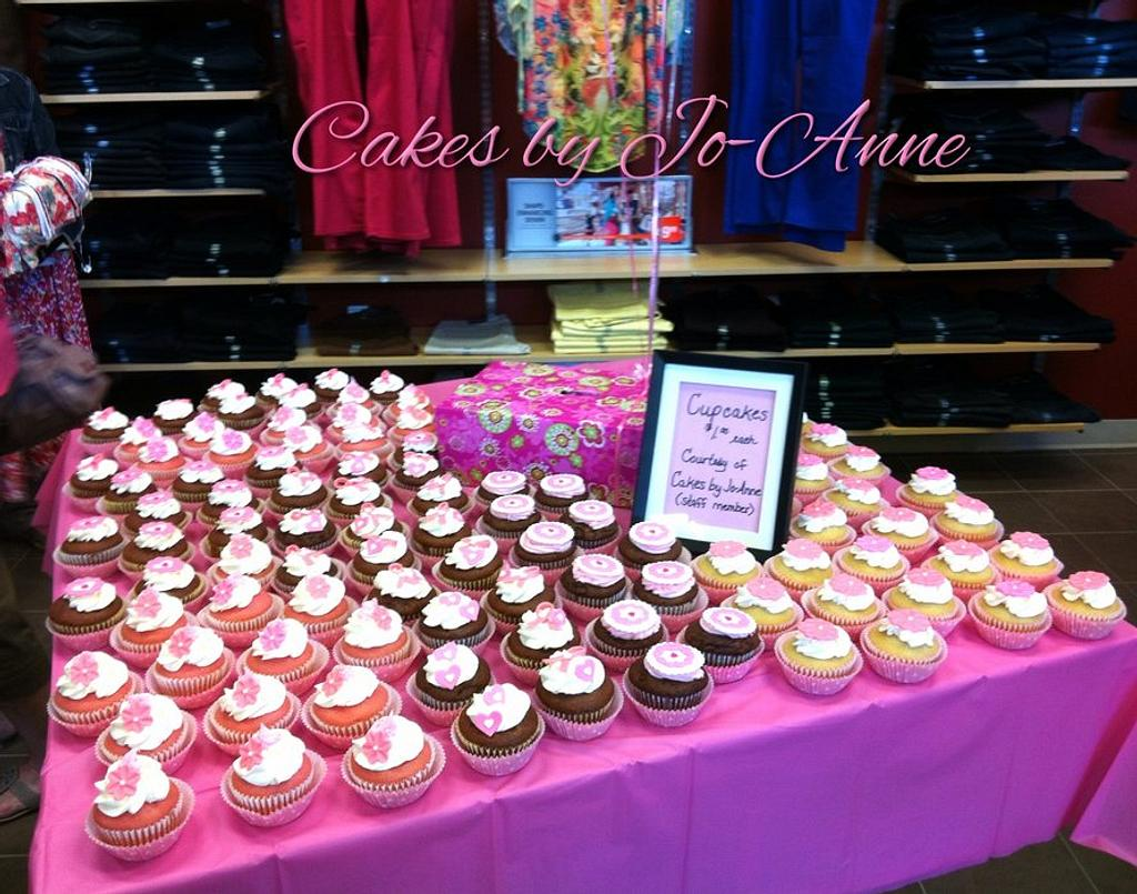 Pretty in Pink Ribbons by Cakes by Jo-Anne
