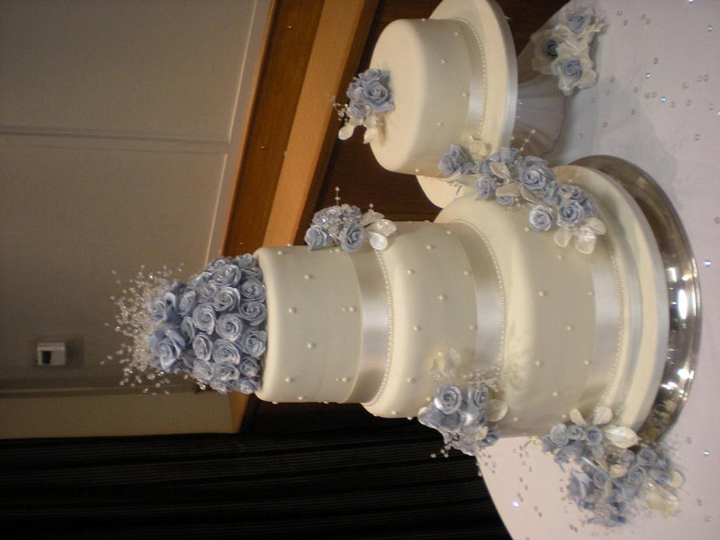 Wedding Cake 8.4.2012  by Sally Aiken