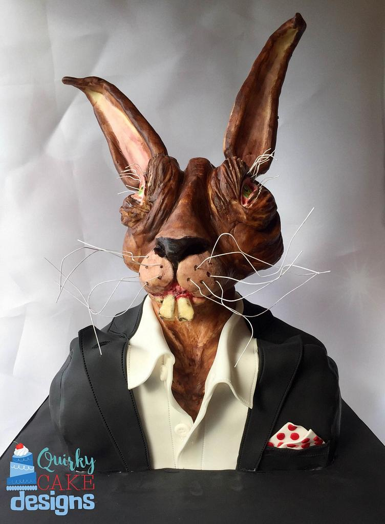 Jack Rabbit : Inland Empire - Cakensteins Monsters by Claire Lynch - Quirky Cake Designs