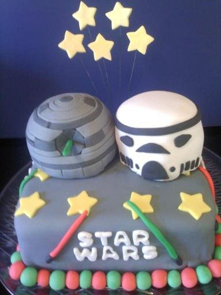 Star Wars Cake II by Heather