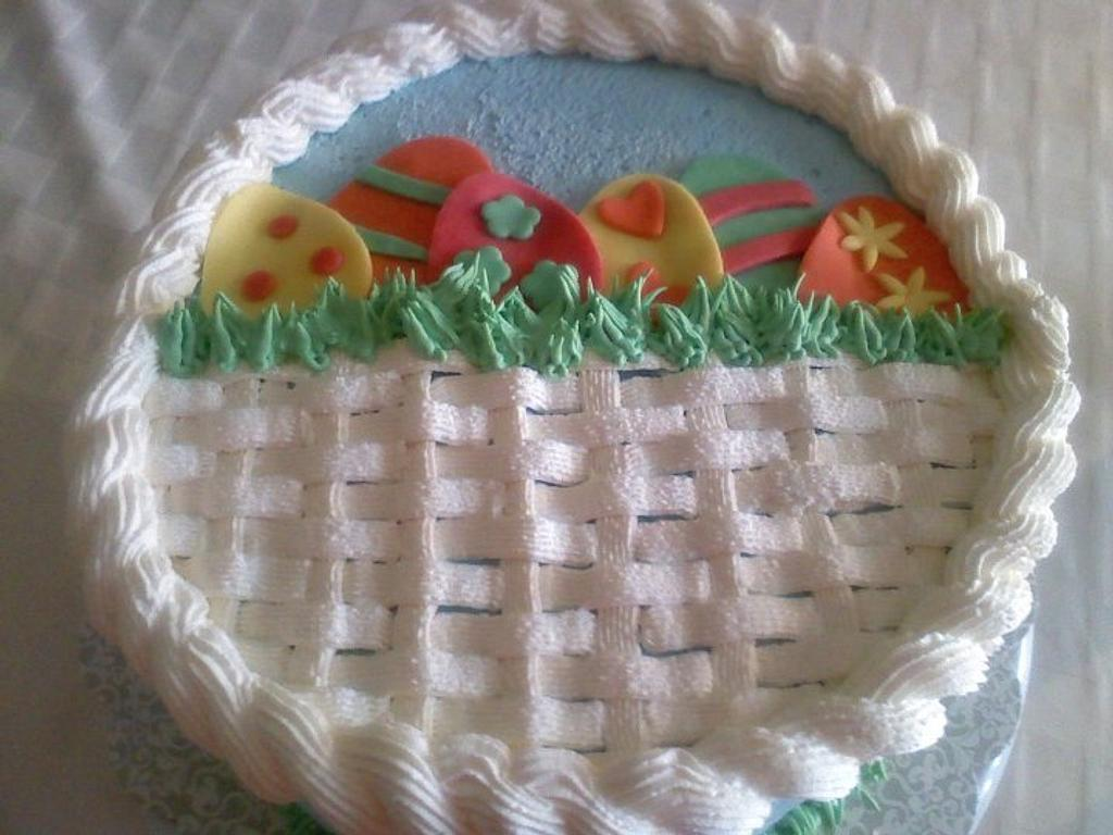 Easter Basket Cake by Kristi