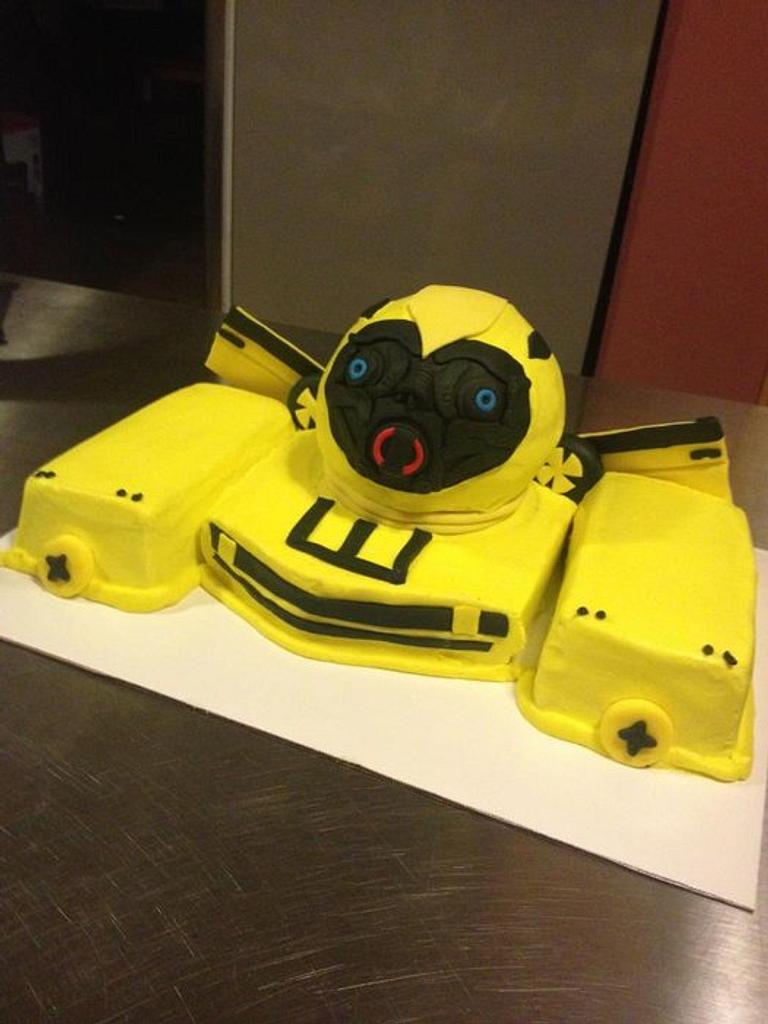 Bumblebee Transformer by Teresa James