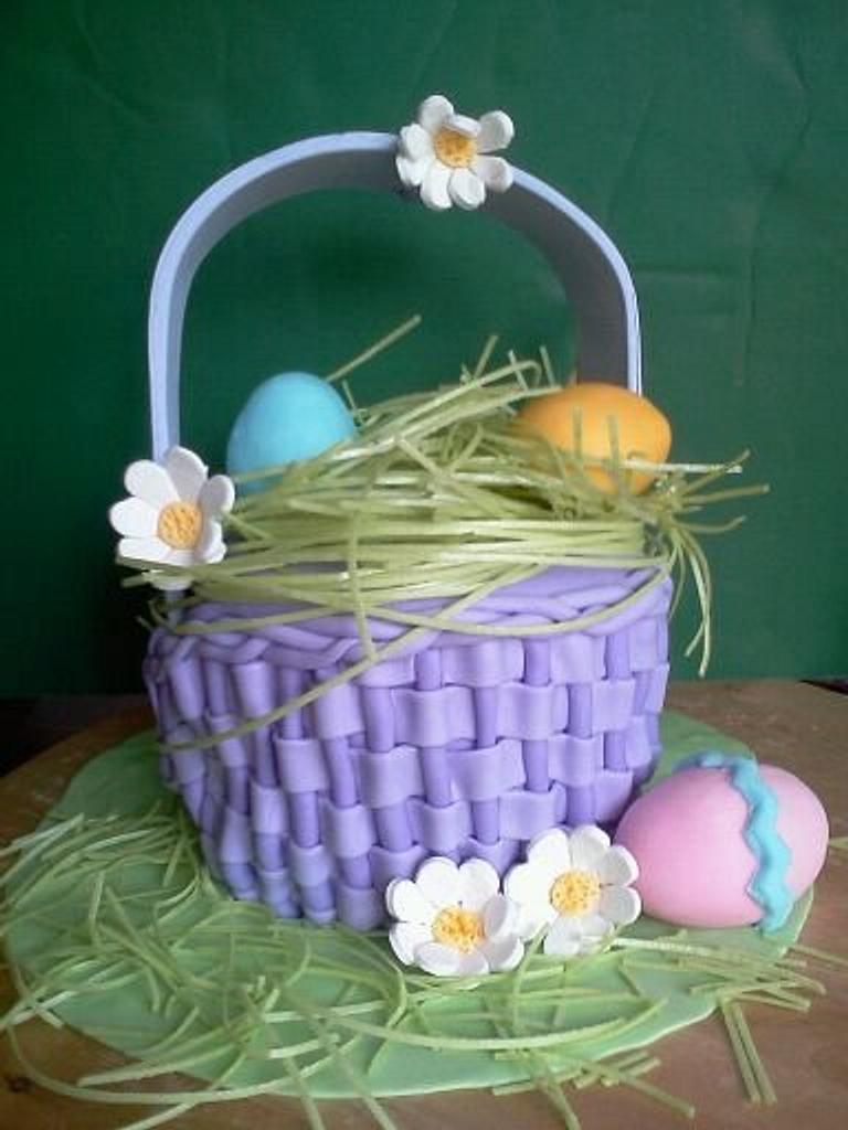 Easter Cake by the cake trend Elizabeth Rodriguez