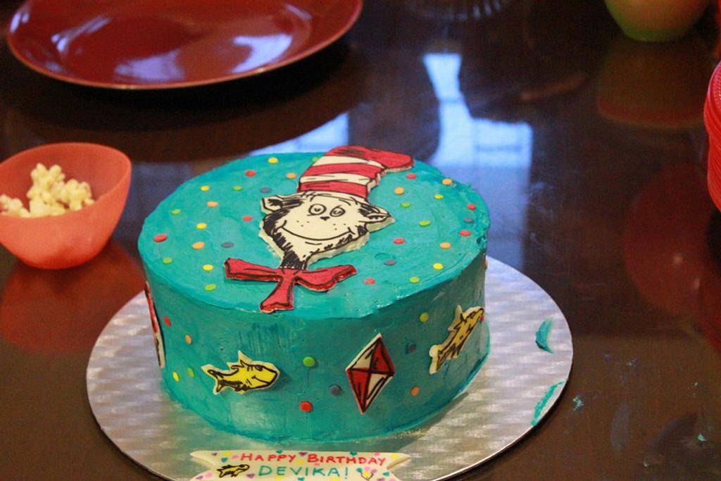 Dr Seuss Cake by Smita Maitra (New Delhi Cake Company)