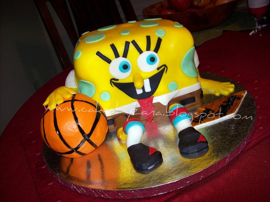 SpongeBob Cake by My Cake Sweet Dreams