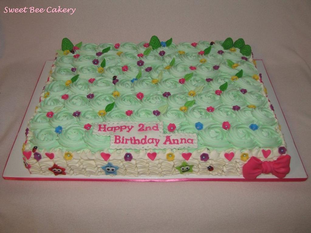 Sheet cake by Tiffany Palmer