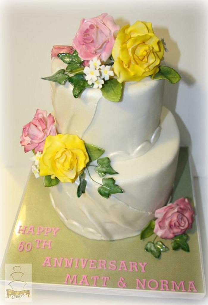 Sugar Love Anniversary CAke by Sam M