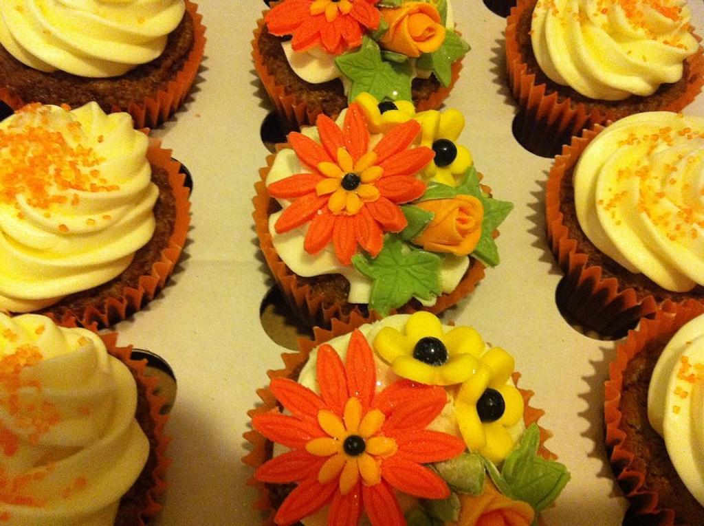 Cupcakes in Fall by Amanda