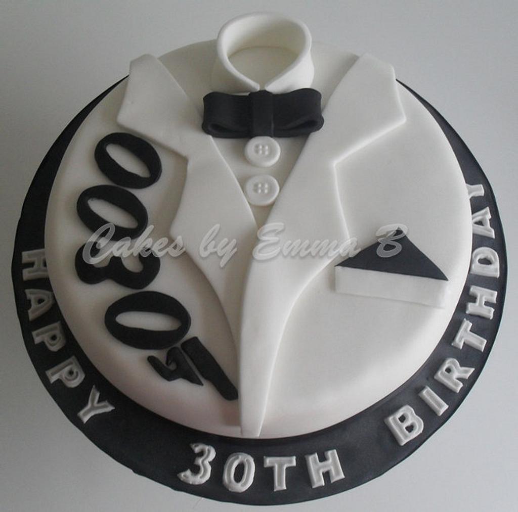 0030 James Bond Cake by CakesByEmmaB