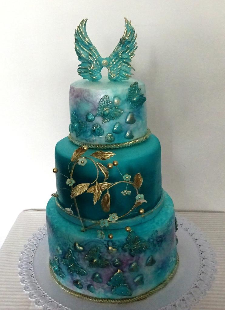 The birthday cake by Daphne
