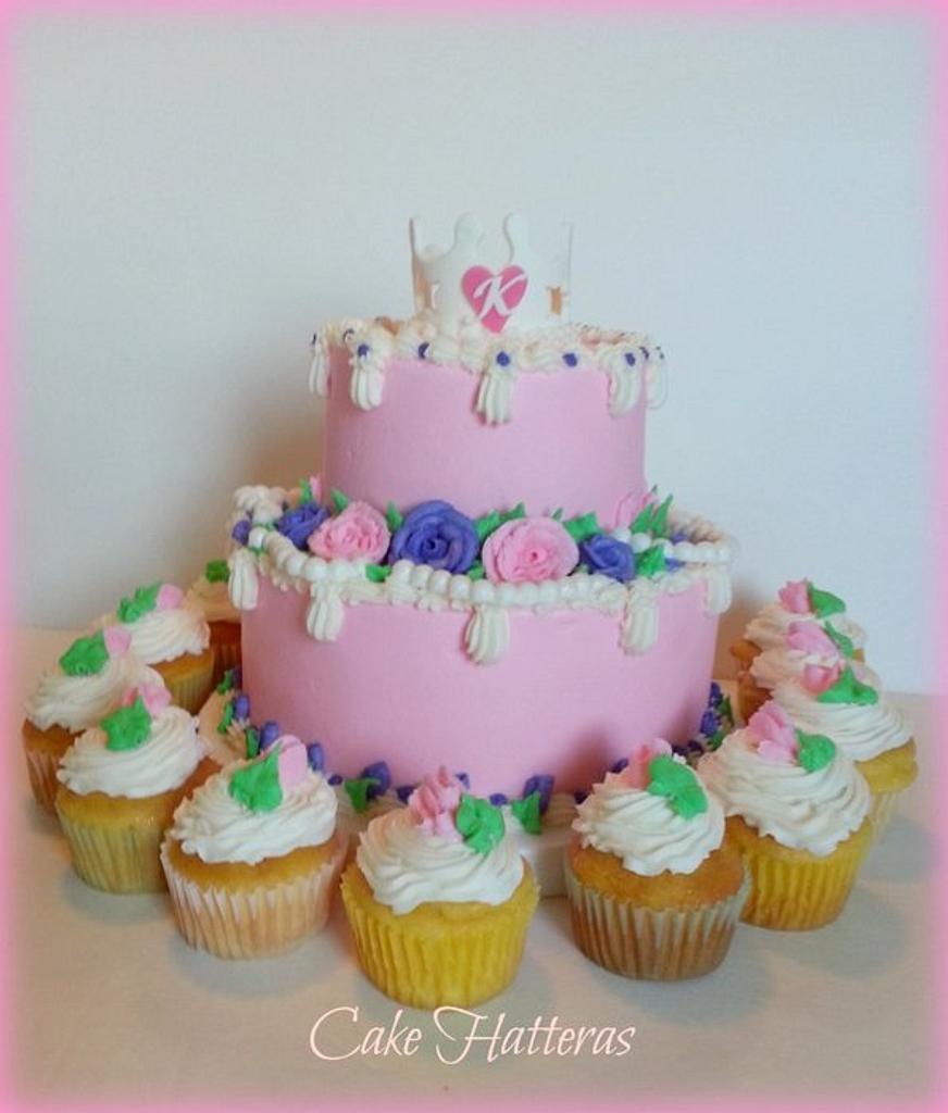 Princess Cake by Donna Tokazowski- Cake Hatteras, Hatteras N.C.