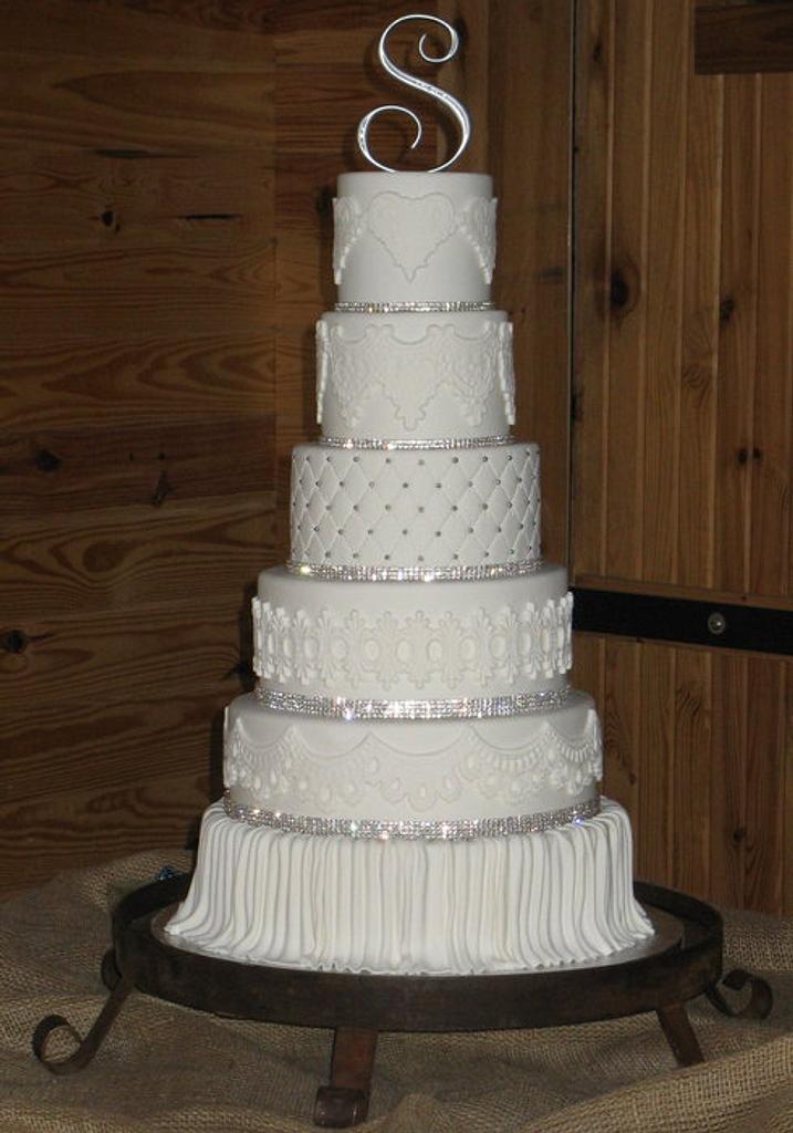 Elegant Wedding Cake by DoobieAlexander