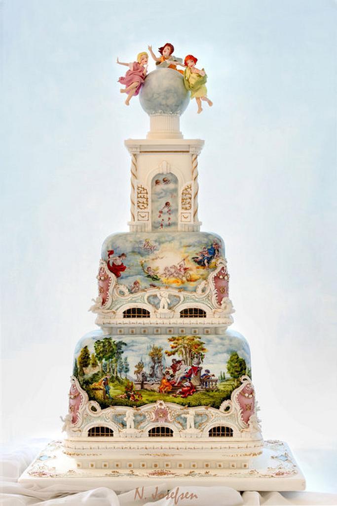 Rococo cake by Neli