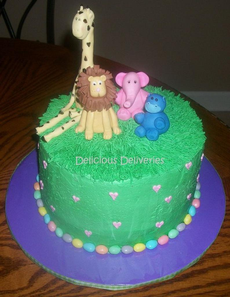 Animal Themed Baby Shower by DeliciousDeliveries