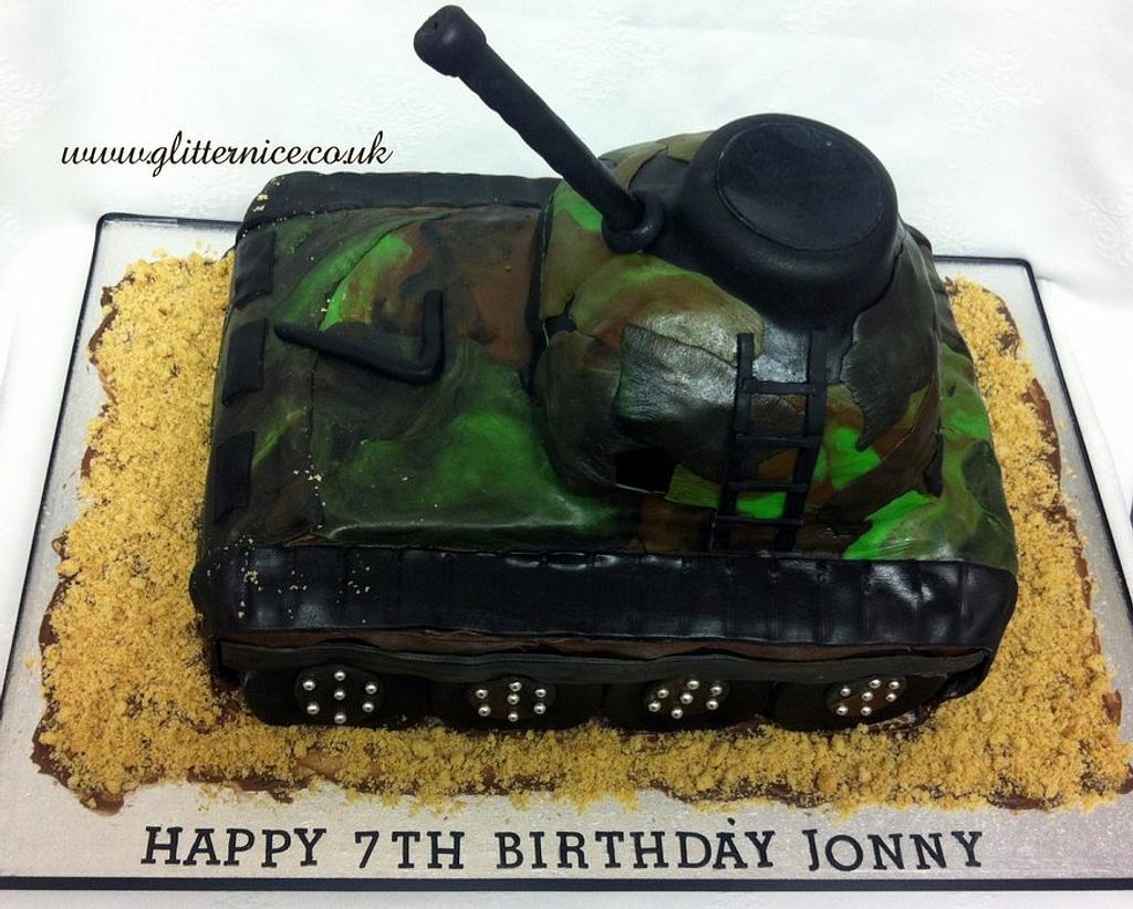Army Tank by Alli Dockree