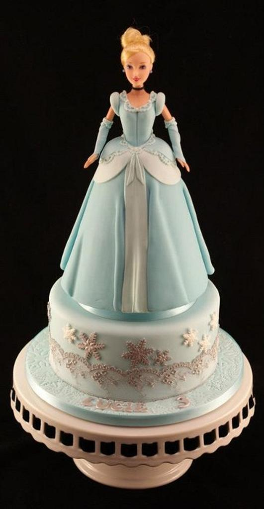 Cinderella cake for my baby girl by Kathryn