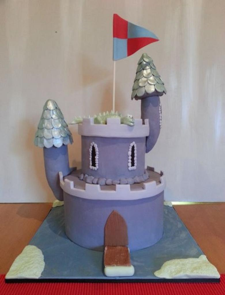 Ben's 5th Birthday Castle and Cookies by Esther Scott