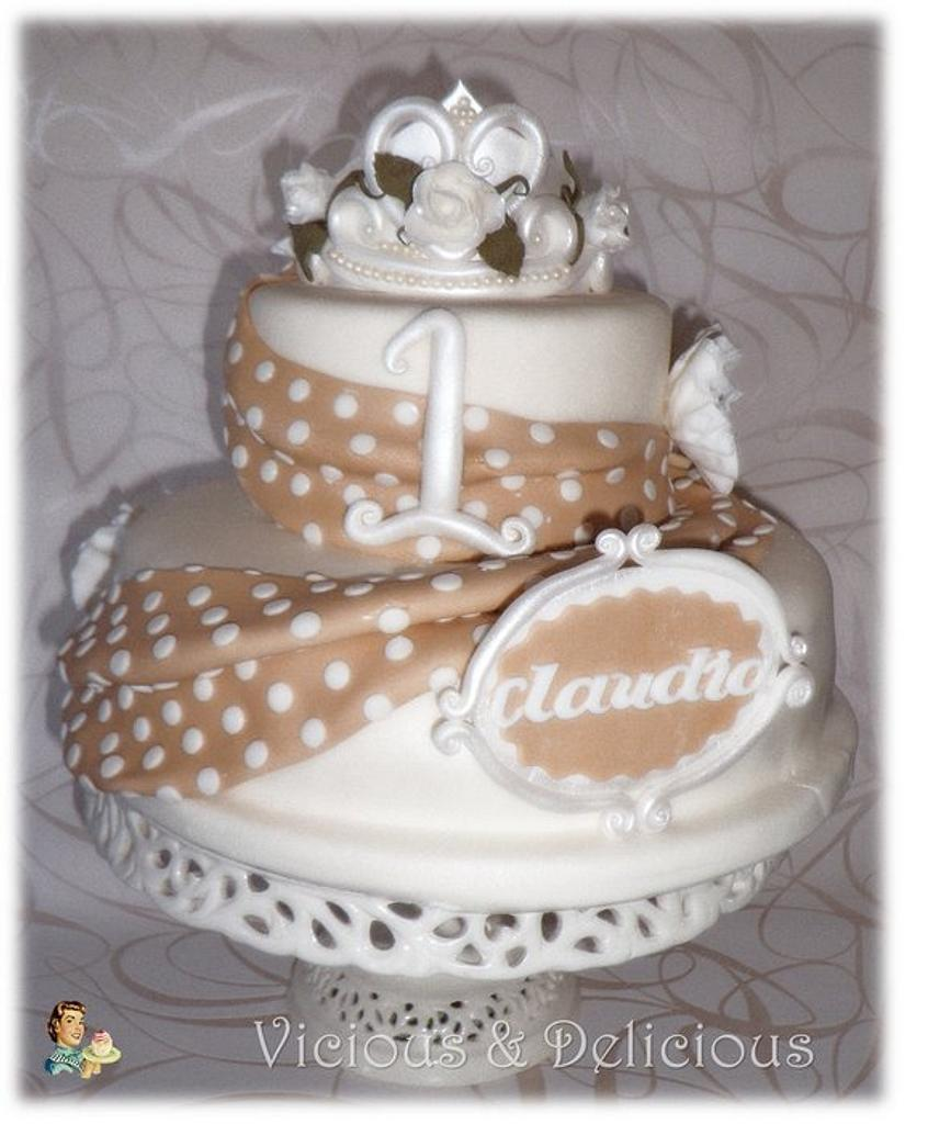 Princess Claudia cake by Sara Solimes Party solutions