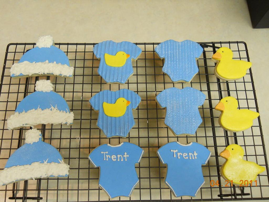 Welcome Baby Trent  by Pixie Dust Cake Designs
