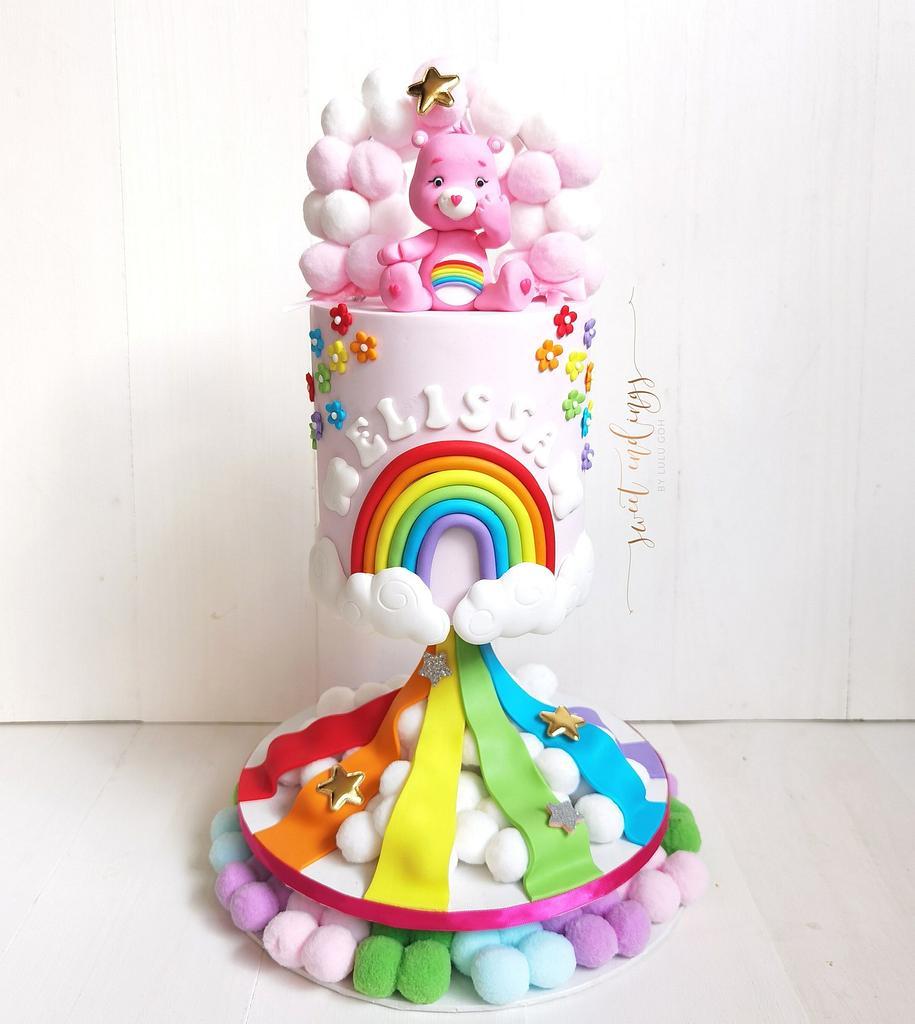 Care Bears and Rainbows by Lulu Goh