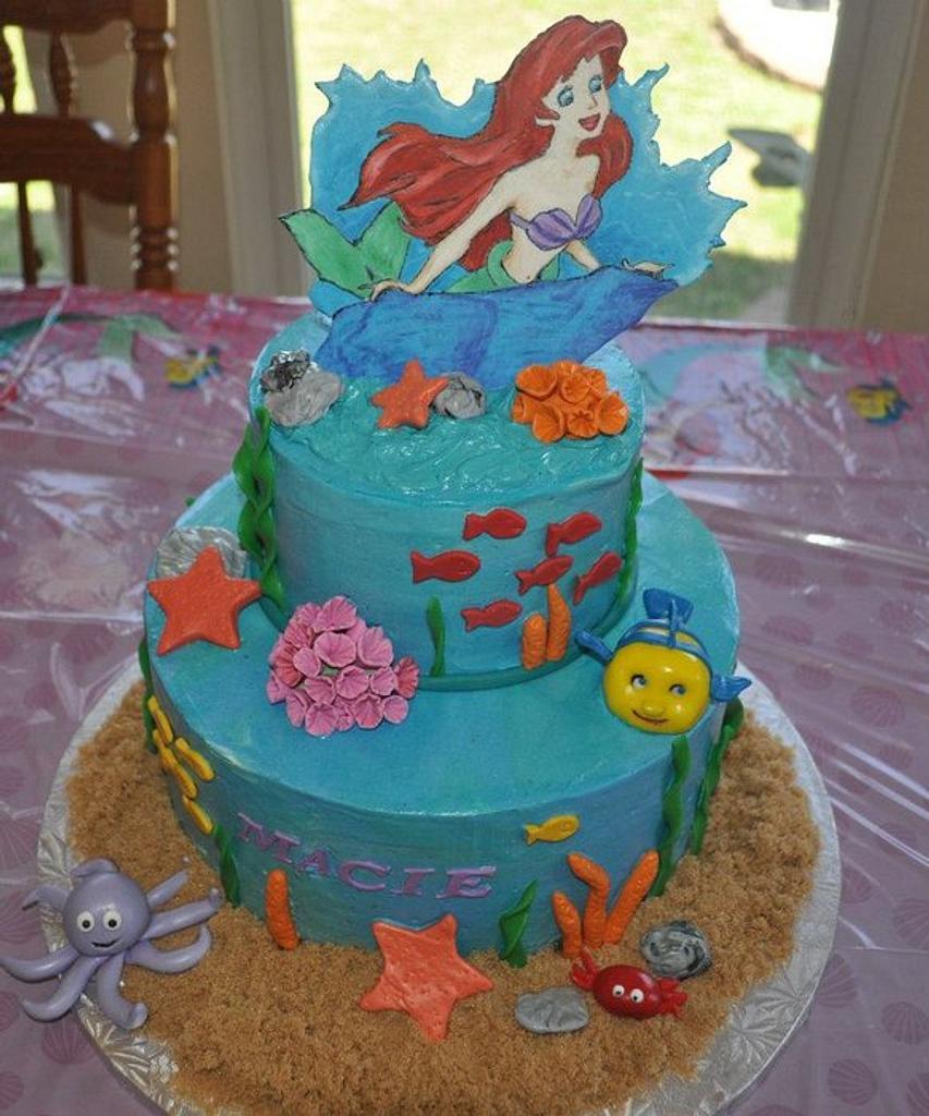 Little Mermaid Cake by Cakewalk