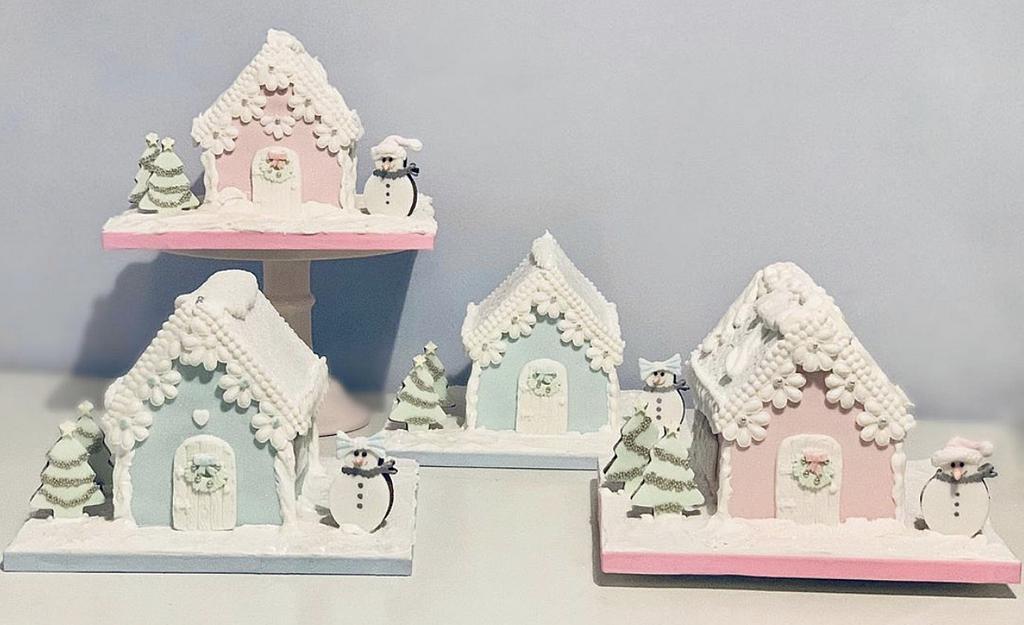 Gingerbread Houses 2019 by Sugar by Rachel