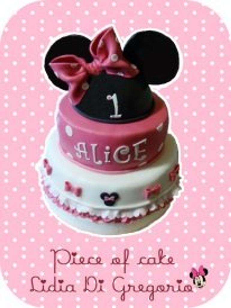 Minnie cake...  by Piece of cake by Lidia Di Gregorio (Italian cakes)