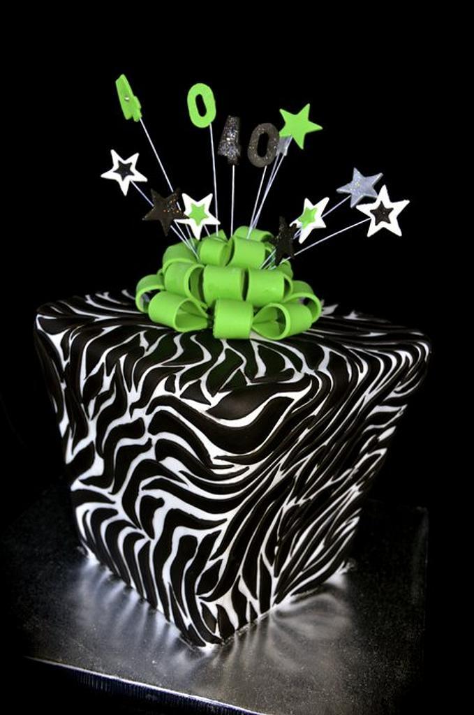 Present box cake by Bite Me Cakes Yeppoon