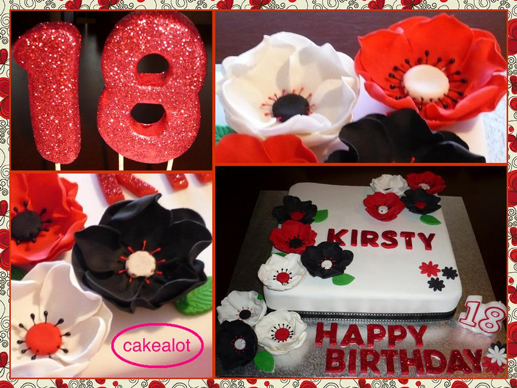 18th Birthday Cake by Louisa